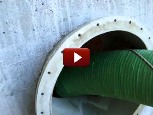 Escavatori a Risucchio Asportazione Materiale Plastico Silos Raffreddamento